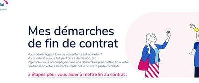 Pajemploi crée un nouveau site pour simplifier les démarches de fin de contrat